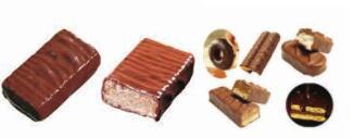 bisküvi / kek için ceket çikolataya MM60 Çikolata giydirici makinesi