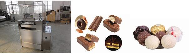 CTCM-600 Chocolate Tempering and Coating Machine